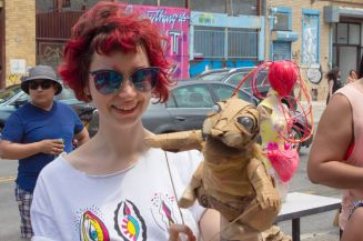 Art_Crawl-heather tied piper puppets