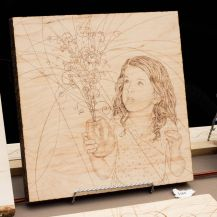 Art_Crawl-wood burn faces