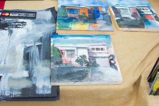 Art_Crawl-Zannah paintings
