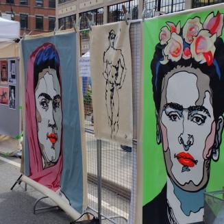 art street display