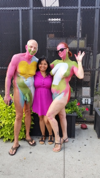 Body painting color basics