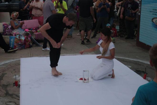 BTAF performers duo