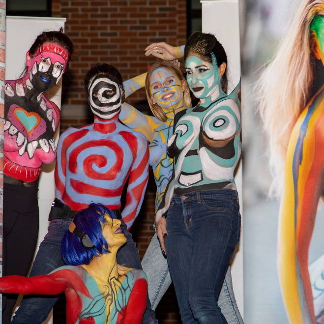 Human Arts Connection Body Painting Day